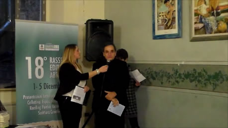Enrico Magni riceve il Premio dell'Editoria Abruzzese. La nostra intervista